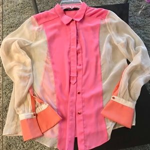 Great colorful top worn once